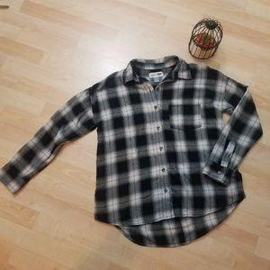 Old Navy Women's Shirt vintage boyfriend button SP